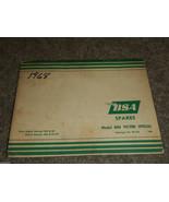 1968 68 BSA B44 VICTOR SPECIAL PARTS BOOK CATALOG DIGRAM - $107.53