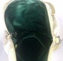 Coach Poppy ~ Pearl Opal Sequins Large Highlight Bag Tote ~ Patent Leather Trim image 5