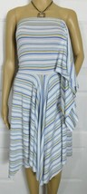 Tiffany Alana Multi-Color Stripes Strapless Dress Size: S/M
