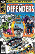 The Defenders Comic Book #76, Marvel Comics 1979 VERY FINE/NEAR MINT - $2.75