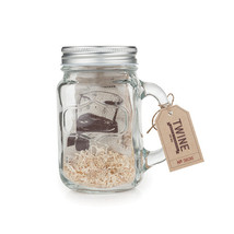 Country Home Mason Jar Stein and Glacier Rocks Set by Twine - $19.99