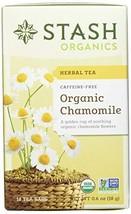 Stash Tea Organic Chamomile Herbal Tea 18 Count Tea Bags in Foil Pack of... - $19.55