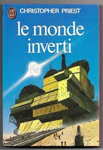 Inverted World (Monde Inverti) Christopher Priest French Book Chris Foss... - $6.50