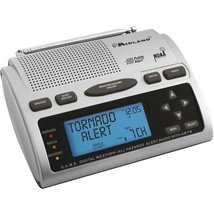 Weather Channel Radio NOOA Portable AM FM Clock Alarm Remove Add Alerts ... - $77.41