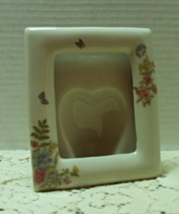Vintage TAKAHASHI Porcelain Photo Frame Free Standing Frame - $11.00