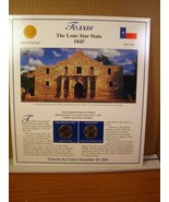 Texas Statehood Quarters Collection Postal Commemorative Society - $8.09