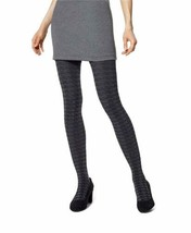 Hue Womens Houndstooth Sweater Tight (Graphite Heather, S/M) - $12.90