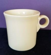Homer Laughlin HLC Fiesta Fiestaware Light Yellow Loop Ring Handle Mug Cup - $7.76