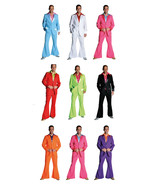 Bright Colored  70's Pimp Suits - Stage Costume - 10 colors in 4 sizes !!  - $45.55+