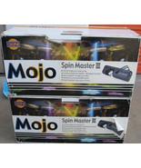 2 OPTIMA LIGHTING Mojo Spin Master III Barrel Movement Scanner 220V !!! - $199.99