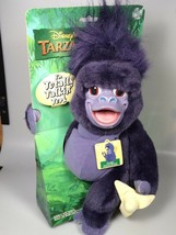 Disney Tarzan Monkey talking terk Purple plush stuffed animal NOS NEW - $88.80