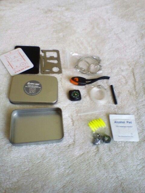 Handy Survival Kit SOS Emergency Equipment Kit Camping Supplies Tactical Hiking