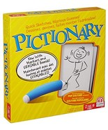 Mattel Games MAT-DKD47-9997 Pictionary Board Game, Yellow - $20.71