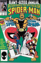 The Spectacular Spider-Man Comic Book Annual #7, Marvel Comics 1987 VFN/NM  - $3.50