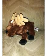 "Ganz Webkinz Reindeer Beanbag Plush 9"" No Code HM137 Stuffed Animal Toy ... - $11.87"