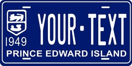Prince Edward 1949 License Plate Personalized Custom Car Bike Motorcycle Moped - $10.99+