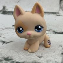 Littlest Pet Shop LPS German Shepherd Tan Orange #1447 - $11.88