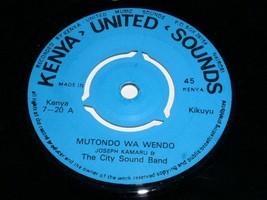Joseph Kamaru The City Sound Band Mutondo Wa Wendo Nyama 45 Rpm Record K... - $499.99