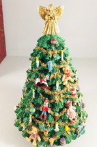 Vintage The San Francisco Music Box Co. Victorian Musical Christmas Tree - $54.45