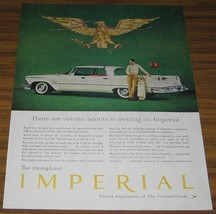 1958 Vintage Ad~The 58 Chrysler Imperial~Finest Expression - $11.80