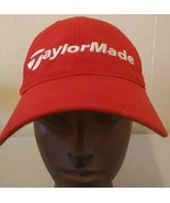 Taylormade Red/ White Golf Tour Flat Bill Adjustable Hat w/ M1/TP5 Logo - $19.76