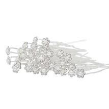 Houseables Hair Clip Pins, Bridal Wedding Accessories, 2.5 Inches, 40 Pack, - €16,39 EUR