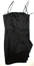 New Womens NWT Calvin Klein Draped Strapless or Strap Dress Black 10 Con... - $85.50