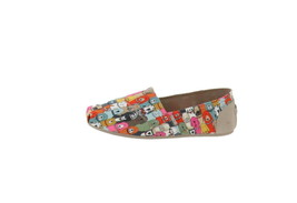 Skechers BOBS Dog Wag Slip-On Shoes-Party Brown Multi 7W NEW A302826 - $43.54