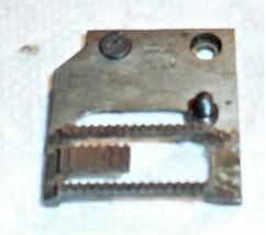 Singer 306W Feed Dog #105149 Used Working Shape w/2 Set Screws  - $12.50