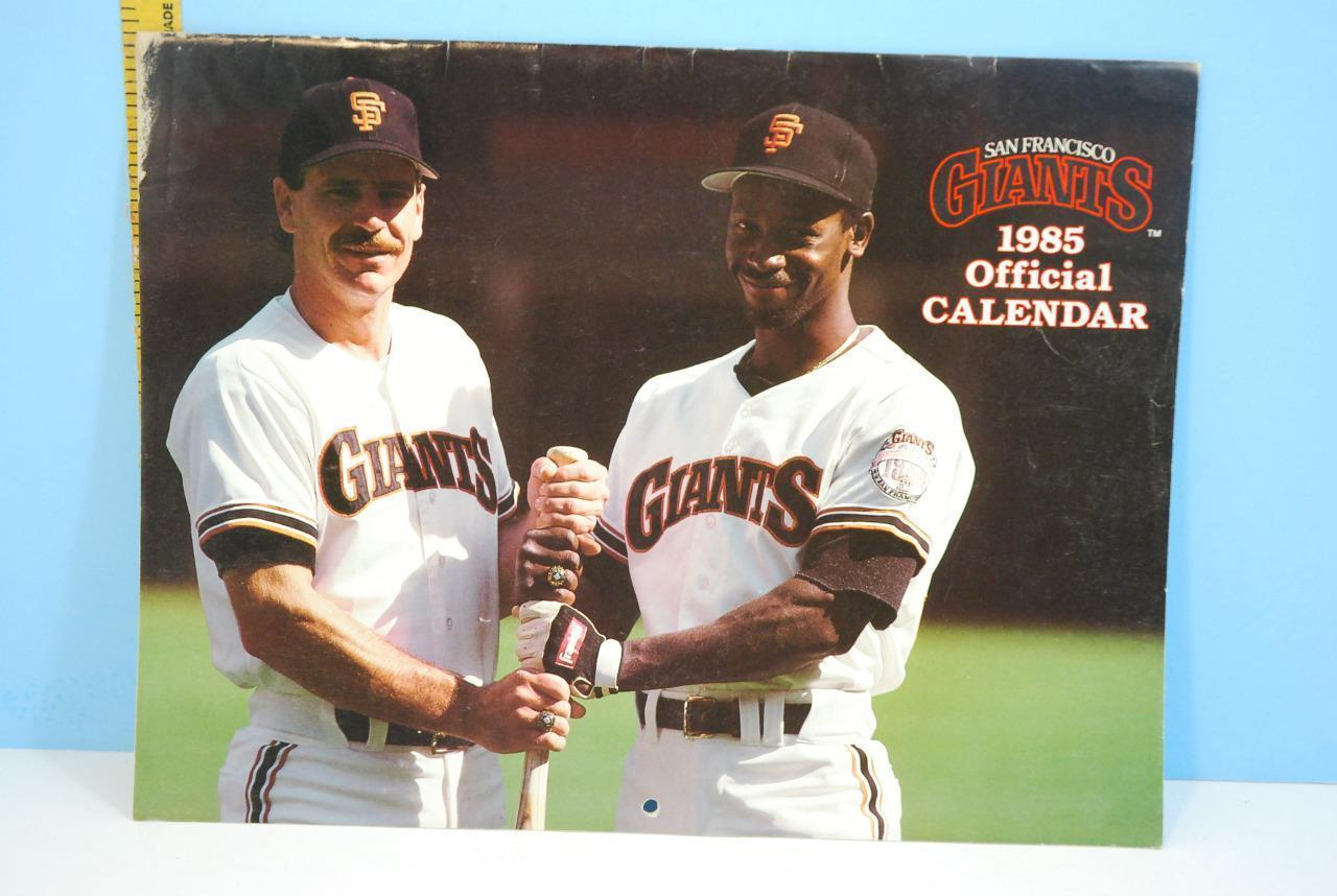 Primary image for 1985 San Francisco Giants Official Baseball Calendar