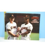 1985 San Francisco Giants Official Baseball Calendar - $16.83