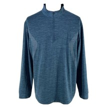 Pro Tour 360 Golf Motionplay Sunplay 1/4 Zip Pullover Jacket Blue Mens X... - $28.47