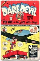 Daredevil #72 1951-Lev Gleason- Charles Biro- Little Wise Guys VG/F - $50.44