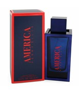 New AMERICA by Perry Ellis Eau De Toilette Spray (New 2019) 3.4 oz for M... - $42.06