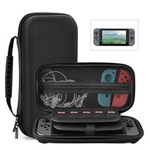 Nintendo Switch Protective Case, Portable Multi-Function Hard EVA Pouch ... - $11.21