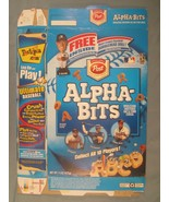 2002 MT Cereal Box POST Alpha-Bits MLB BOBBLEHEAD OFFER [Y155B3c] - $16.32