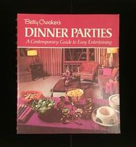 Vintage 1970 Betty Crocker's Dinner Parties Cookbook- hardcover image 2
