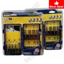 (New)Irwin Tools 3057014 16-Piece Screwdriver Bit Set (Pack of 2) - $31.67