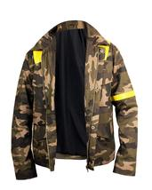 Mens 21 Twenty One Pilots Trench Camouflage Levitate Cotton Jacket image 2