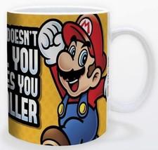 Super Mario What Doesn't You Kill Makes You Smaller 11oz Mug Licensed Ni... - $15.83
