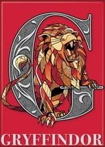Harry Potter Gryffindor Creature Crest Logo Image Refrigerator Magnet NEW UNUSED - $3.99