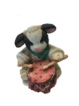 "MARY RHYNER 1994 ""LITTLE DRUMHERD bOY"" CERAMIC ORNAMENT BY ENESCO CORP. - $22.46"