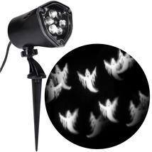 LightShow LED Chasing White Ghosts Strobe Spotlight halloween decor - $34.99