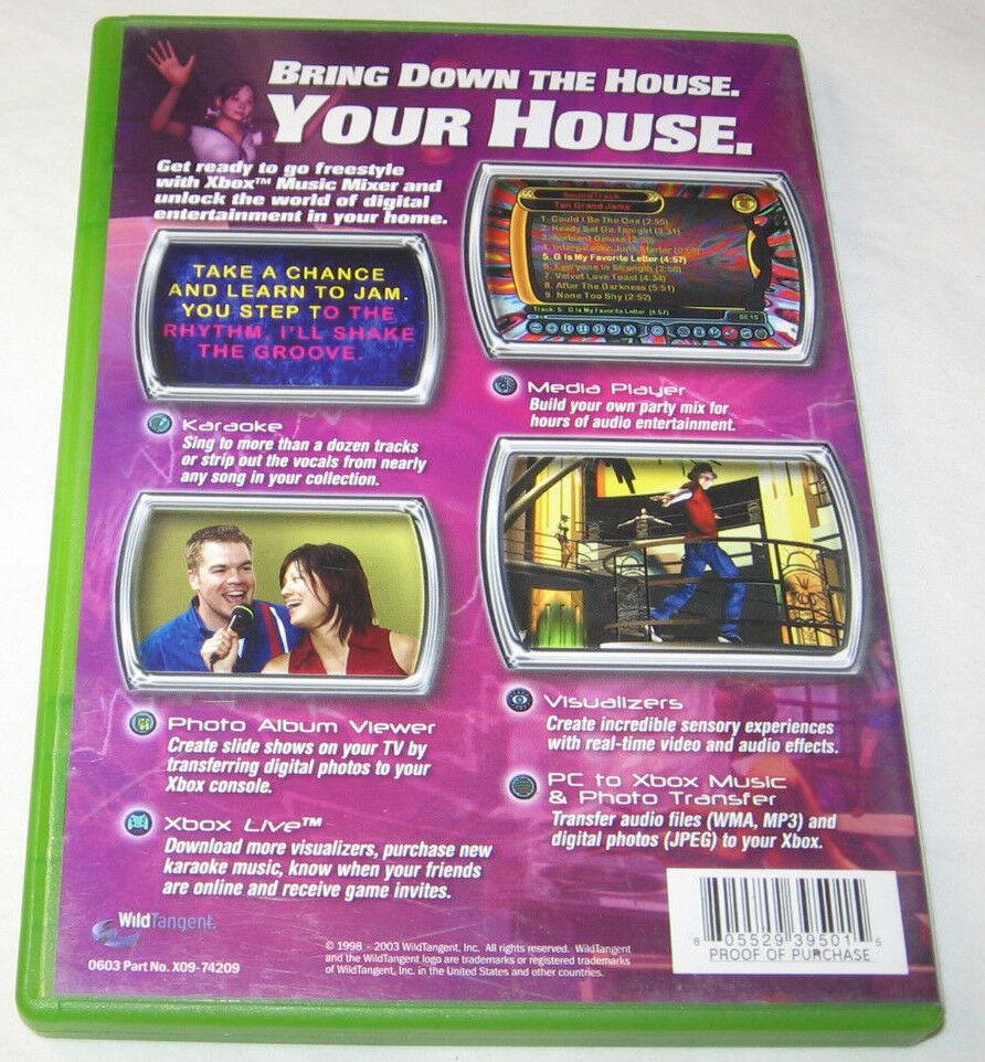 Microsoft Xbox Musique Mixeur Xbox, 2003 Vidéo Jeu U.S.A image 3
