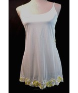 NEW Vintage 80's Victoria's Secret nightgown SMALL White see-through Bab... - $16.39
