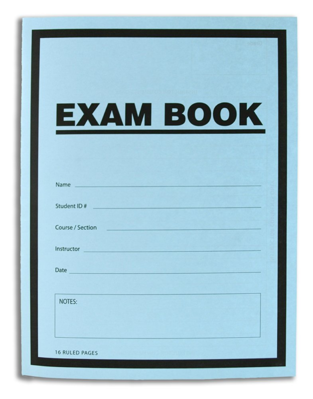 blue book essay test Practice tests are also available online so you can simulate test day and figure out how to focus your sat study download the guide [accordion-group] [accordion heading=getting ready for the sat] get tips and strategies to help you do your best on test day.