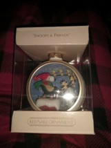 SNOOOY AND FRENDS FORTH IN THE SERIES Hallmark CHRISTMAS ORNAMENT  - $24.70