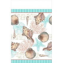 """By The Sea Table Cover Disposable ECO Party Tableware, Paper, 54"""" x 102"""". - £12.89 GBP"""
