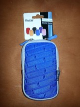 Lot of 6 New Vivitar Stacker Series Blue Universal Camera Case w/tags - $24.99