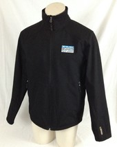 Black Full-Zipper Jacket Telmex Chip Ganassi Racing Team Champion Men's ... - $34.99
